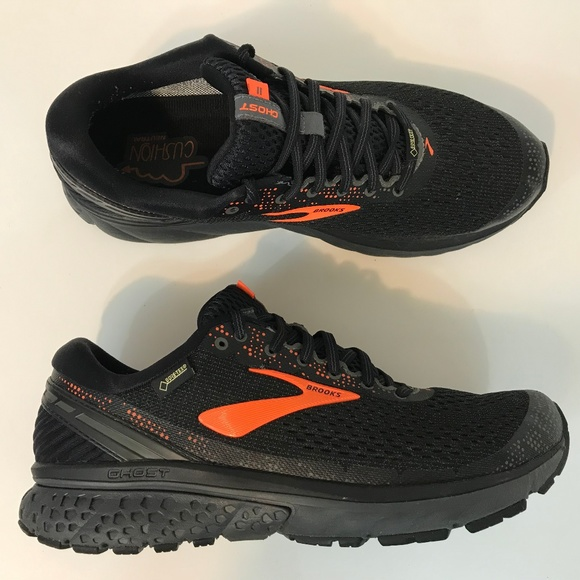 a6a15d08bc7a3 ... Ghost 11 GTX Running Athletic Training Shoes Black  Brooks ...